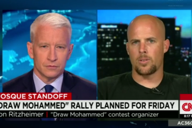 "view download images  Images   ""The core values of Islam is what I really hate"": Watch Arizona ""Draw Mohammed"" rally organizer's paranoid, incoherent CNN appearance -"
