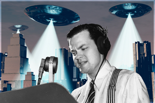 Image result for orson welles war of the worlds images