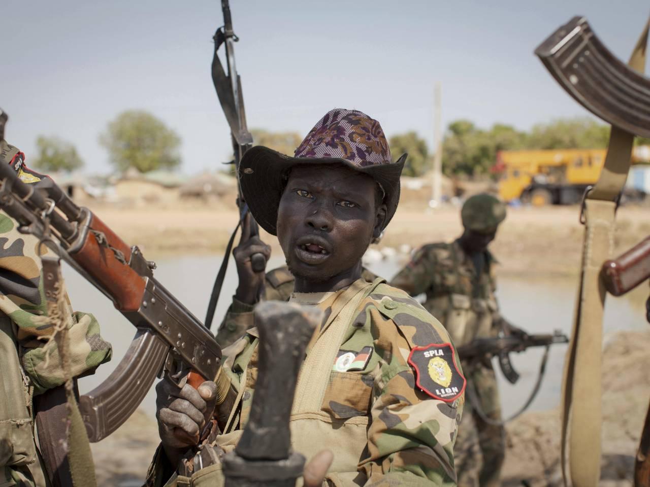 Child soldiers speech