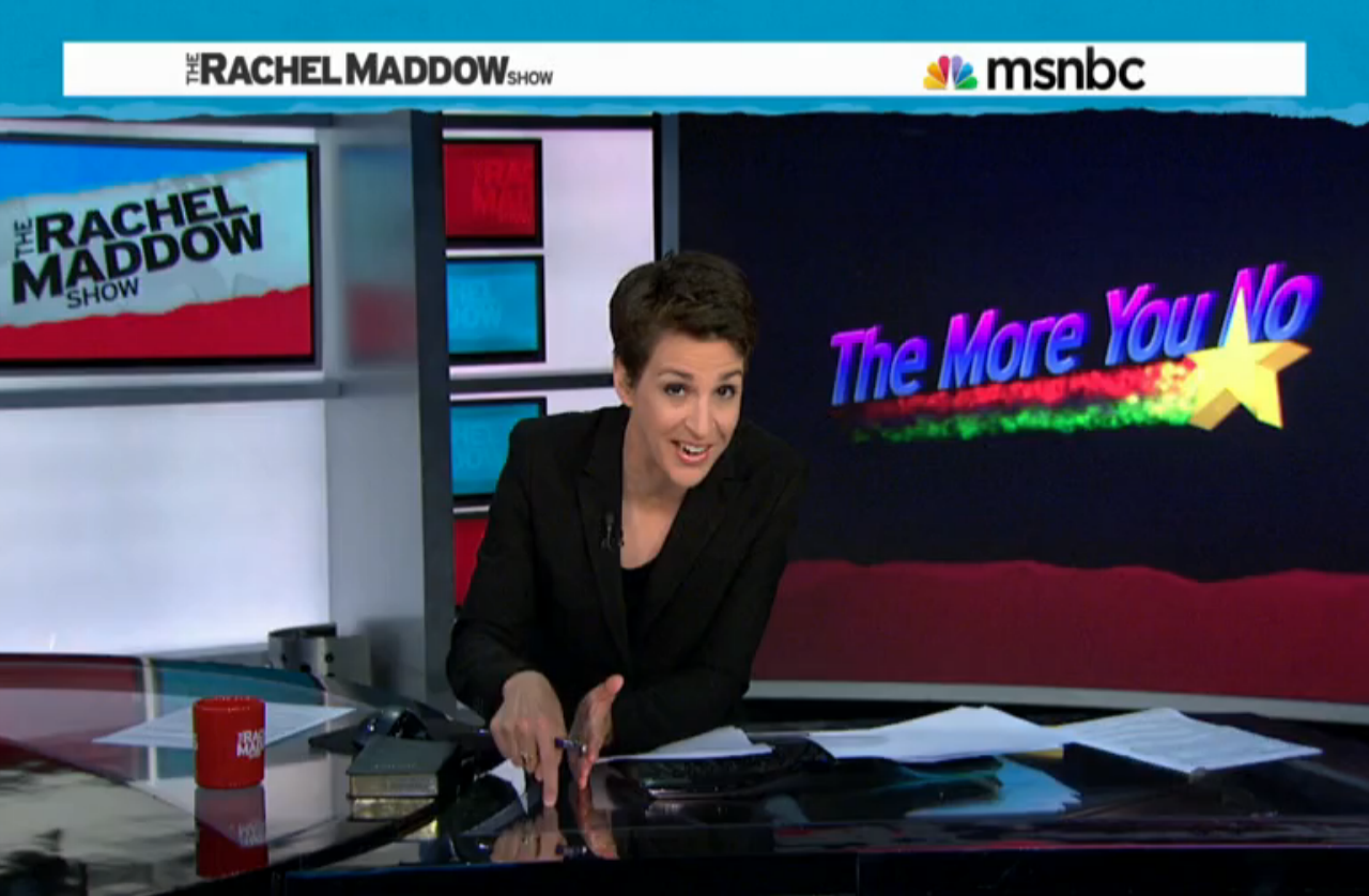 Rachel Maddow on Lack of LGBT Rights, Anti-Gay