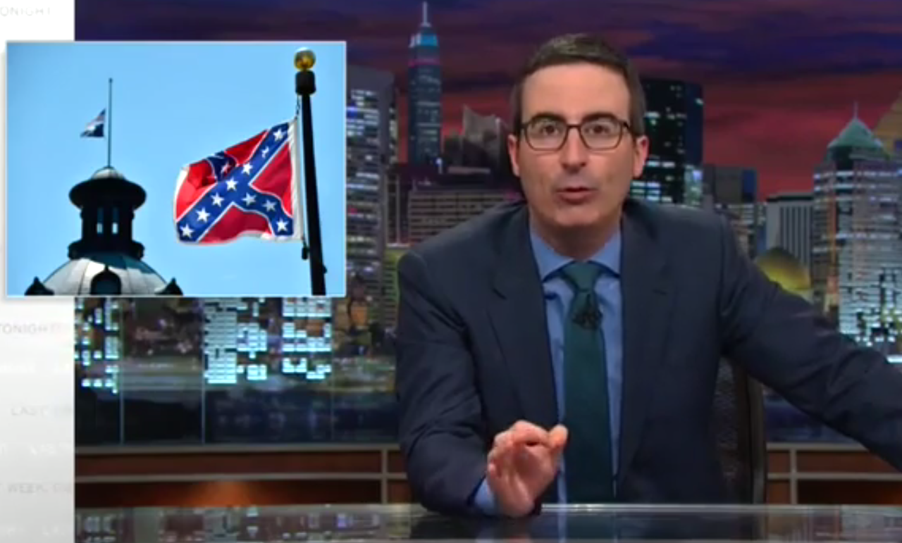 John Oliver has the perfect solution to the Confederate flag ...