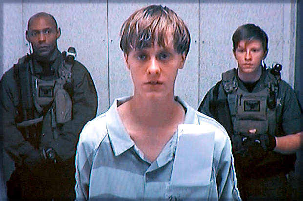 Image result for Dylann Roof Sentenced to Death Over South Carolina Church Massacre