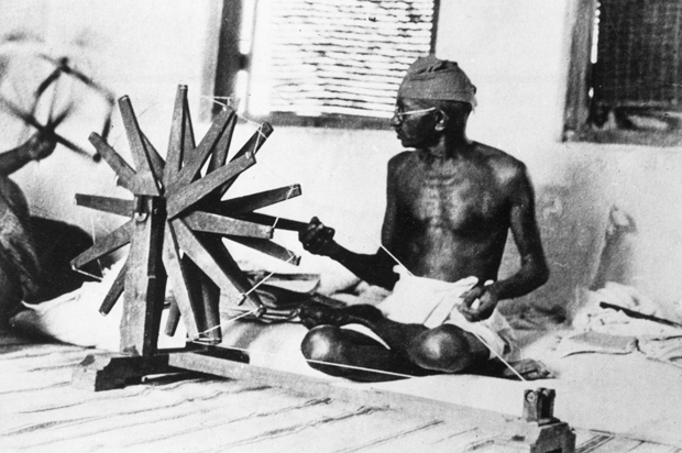 Outsourcing, downsizing & Gandhi's spinning wheel | Salon com