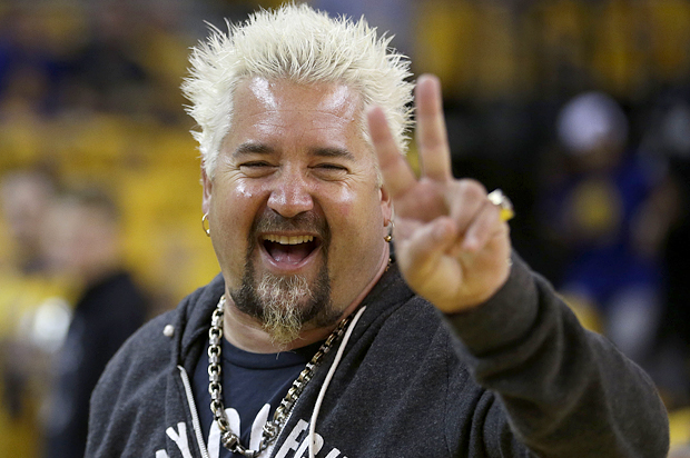 Guy Fieri's Real Face ...