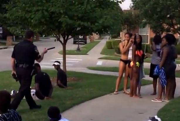 Teen outruns texas police