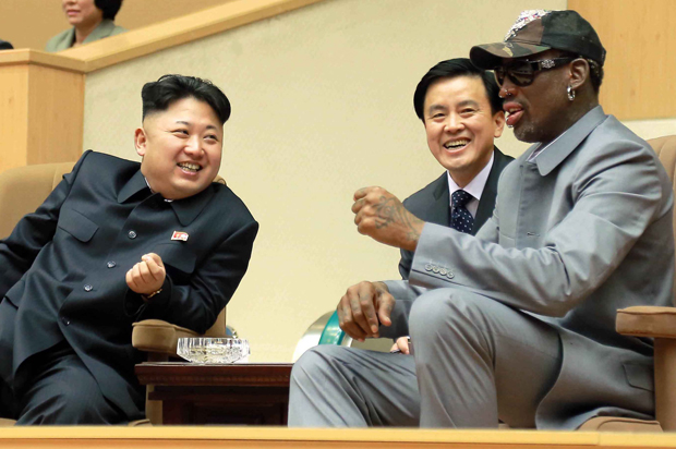 Image result for dennis rodman north korea