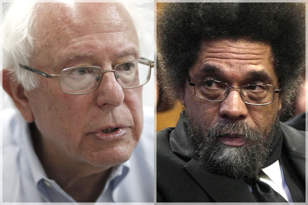 Cornel West lashes out at civil rights icons after Bernie Sanders suffers resounding South Carolina defeat