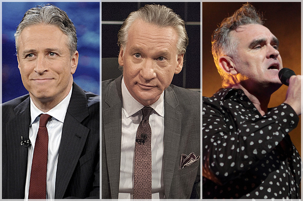 Morrissey Endorses Jon Stewart And Bill Maher For President