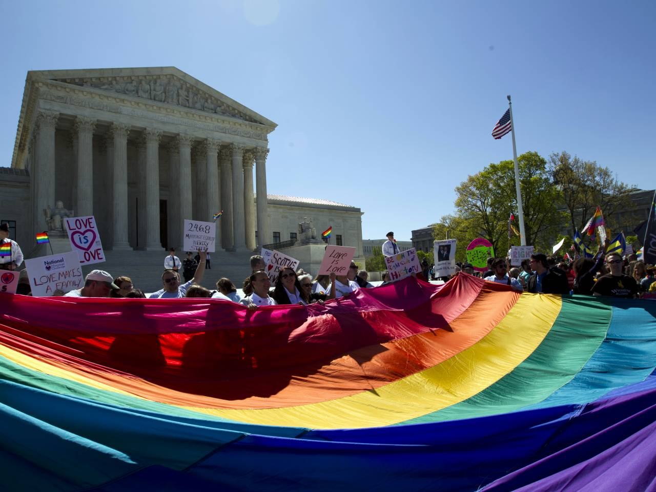 SCOTUS reached the historic ruling in a 5-4 decision with 4 dissents