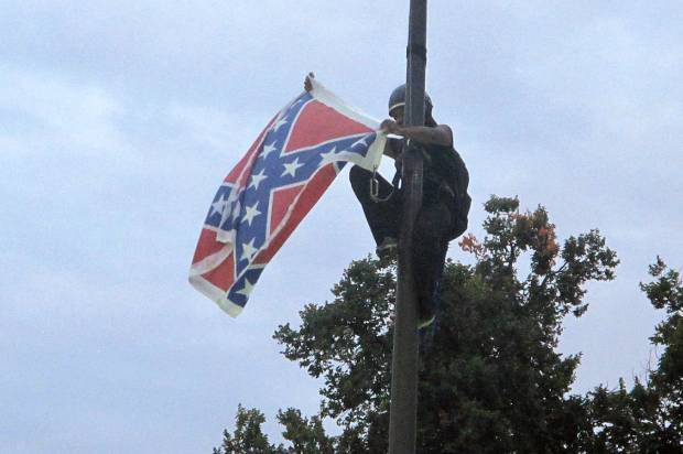 White Southern hate, stripped bare for all to see