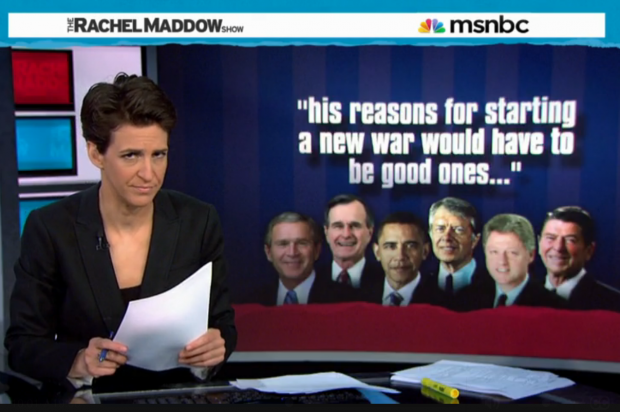 "view download images  Images   Rachel Maddow cheers on Obama's ""never pacifist by any means"" path to peace -"
