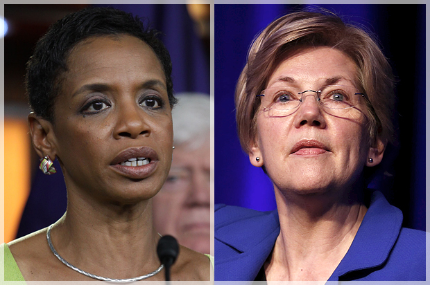Watch and learn, progressives: Donna Edwards and Elizabeth Warren show how to talk about Black Lives Matter