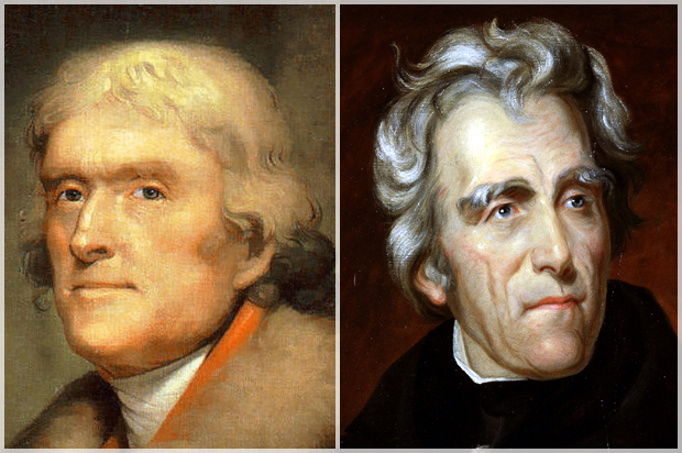 thomas jefferson vs andrew jackson essay Thomas jefferson vs andrew jackson essays: creative writing course delhi magnum photos photo essay of those who live in the slums heart wrenching, appreciate your life.
