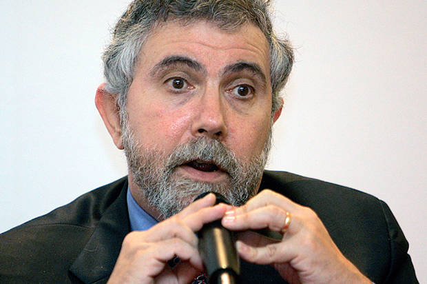 "Paul Krugman: ""What's good for the Dow isn't good for America"""