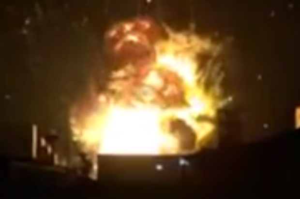 Horrifying videos depict a massive explosion in China