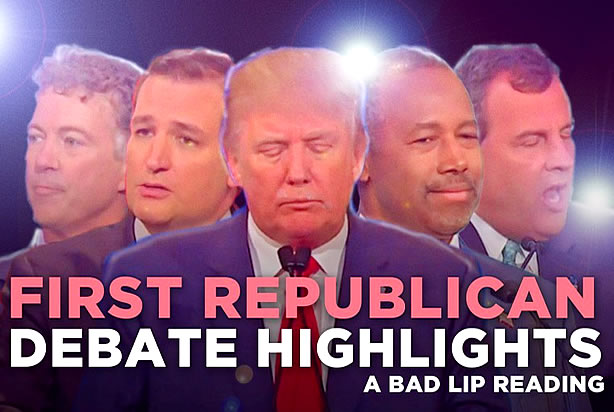 Bad Lip Reading somehow manages to make the first GOP ...