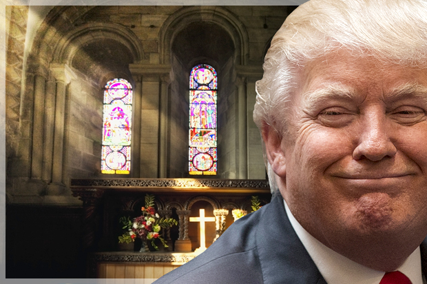 Trump?s big business CEOs are horrified by his Confederate excuses ? but his religious advisers have nothing but praise