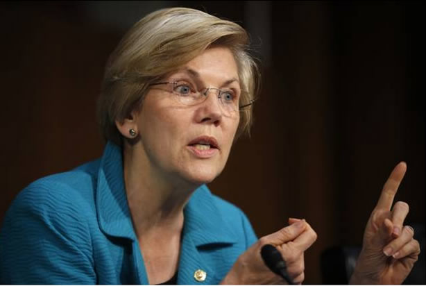 "Senator Warren calls Wells Fargo scam a ""staggering fraud"""