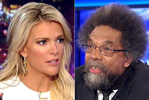 Megyn Kelly demands Cornel West explain why #BlackLivesMatter doesn't protest black-on-black violence
