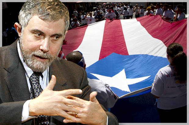 Paul Krugman's shameful colonialism: Why the progressive economist has Puerto Rico all wrong
