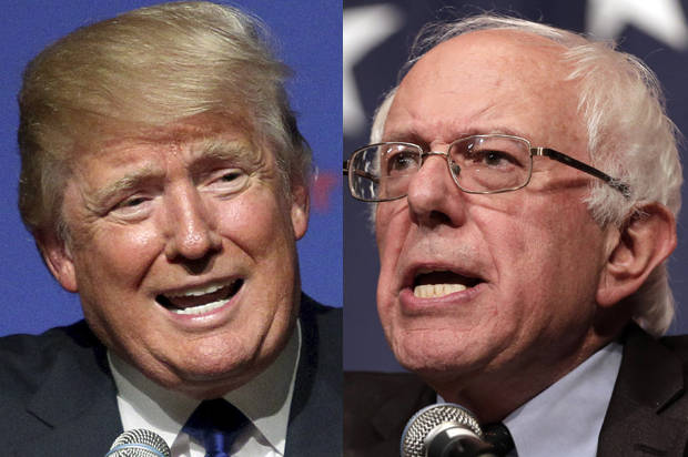 Trump or Sanders?  (weekend poll)