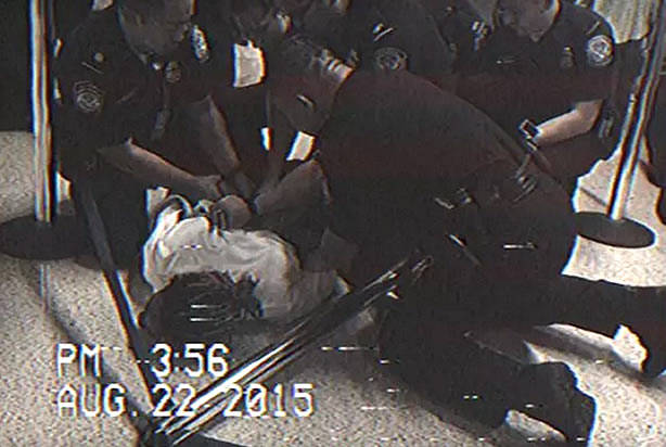 """Rapper Wiz Khalifa slammed to floor, handcuffed for riding """"hoverboard"""" at LAX"""