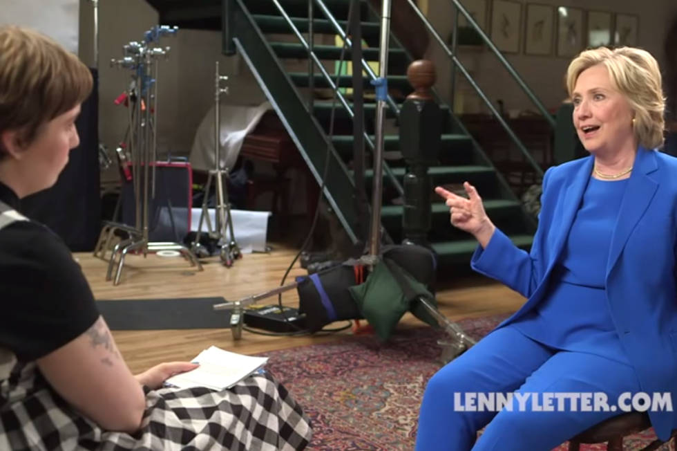 "Hillary Clinton opens up to Lena Dunham: ""I'm a feminist, and I say it whenever I'm asked"""