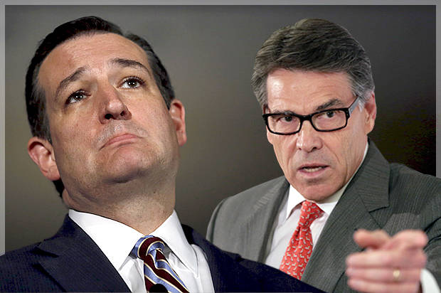 Ted Cruz, Rick Perry