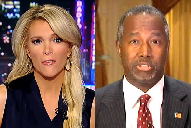 Megyn Kelly trips up patently unprepared Ben Carson with softball question about Kim Davis and slippery slopes