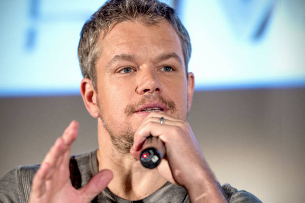 Matt Damon apologizes ...