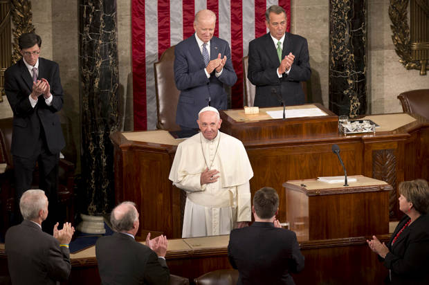 5 amazing ways Pope Francis made Republicans squirm yesterday