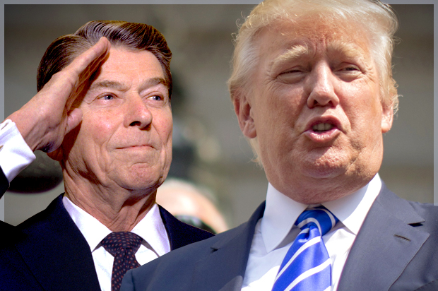Let's get this straight: Trump is no Reagan