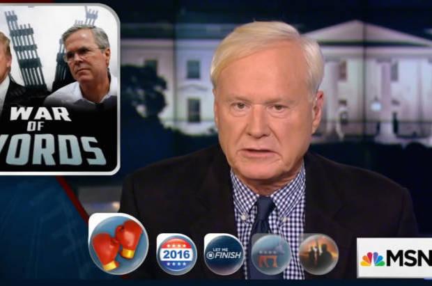 Chris Matthews applauds Donald Trump for destroying the falsehood that George W. Bush kept us safe: