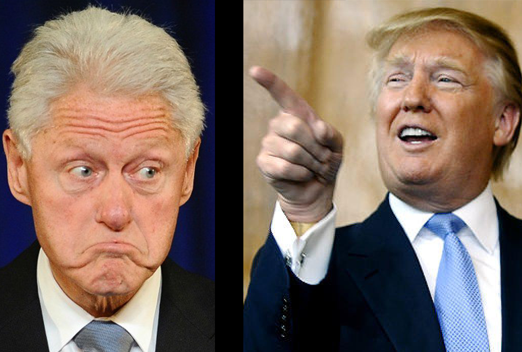 bill clinton one thing donald trump knows is how to get angry white men to vote for him. Black Bedroom Furniture Sets. Home Design Ideas