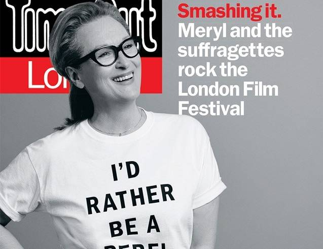 Time Out Responds To Suffragette T Shirt Controversy