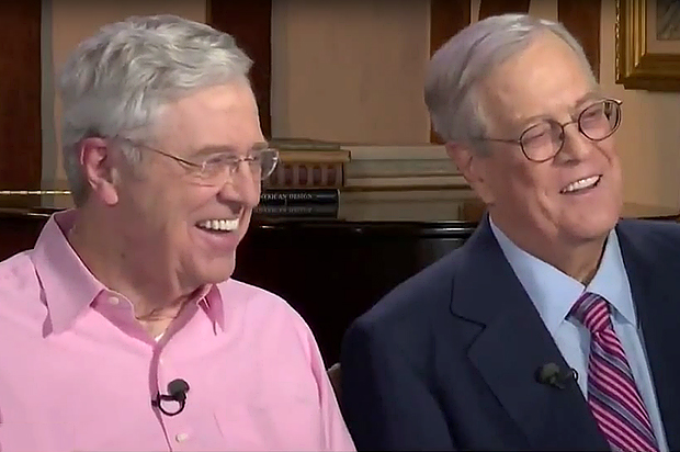 the koch brothers couldn t be happier with donald trump s On koch brothers