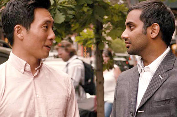 Image result for aziz ansari and alan yang