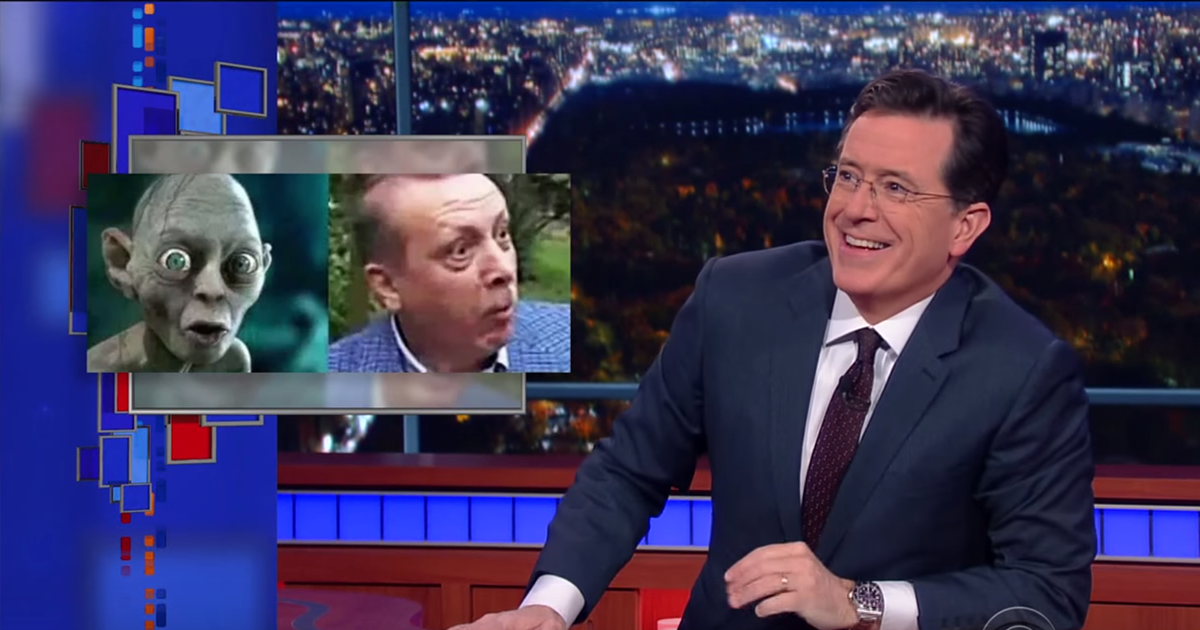 Be Expert On Anything Stephen Colbert >> Stephen Colbert Gollum Expert And Tolkien Geek Just Saved A