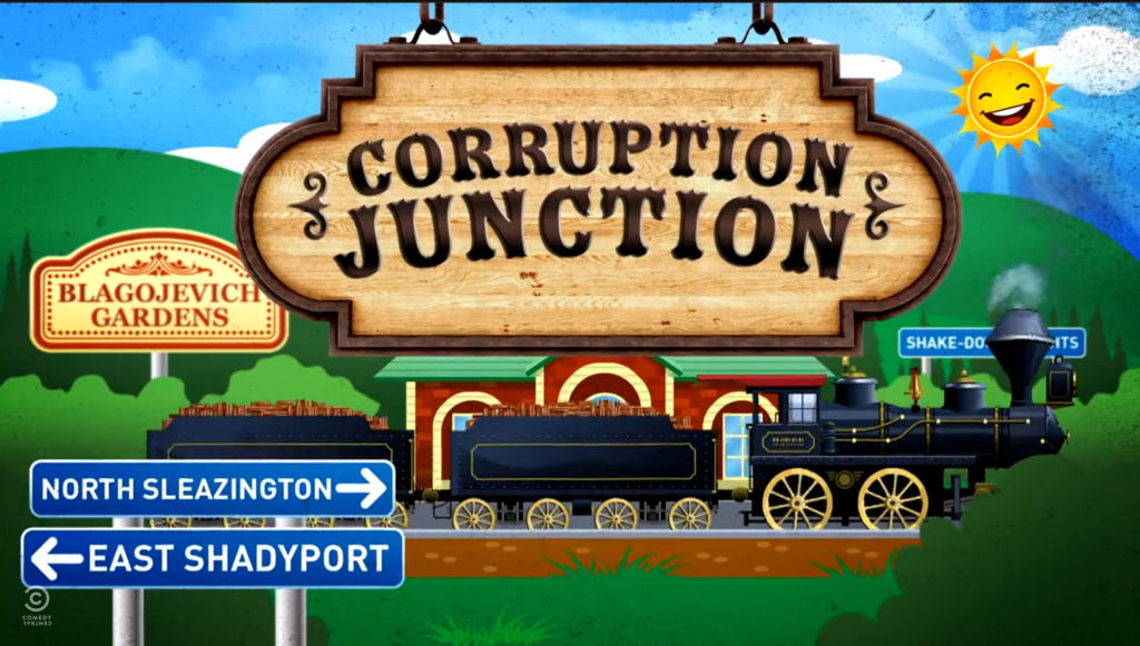 Larry Wilmore Corruption Junction