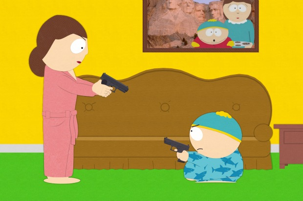 always brash south park gets brave from kids with guns to the