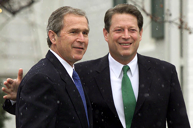 George W Bush Vs Al Gore 15 Years Later We Really Did Inaugurate
