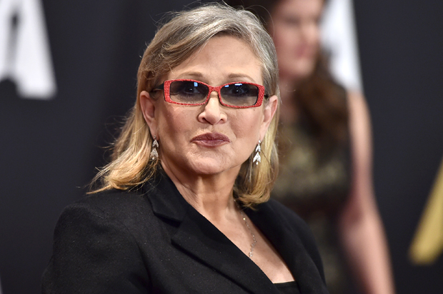 Image result for carrie fisher 2016