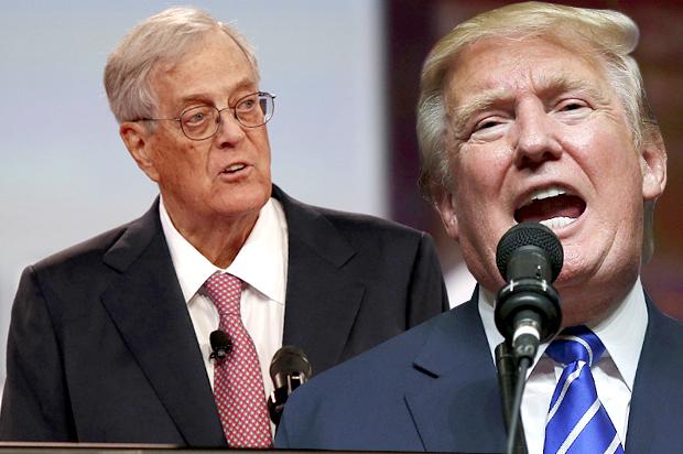 Who wins? Donald Trump vs  the Koch Brothers on jobs | Salon com