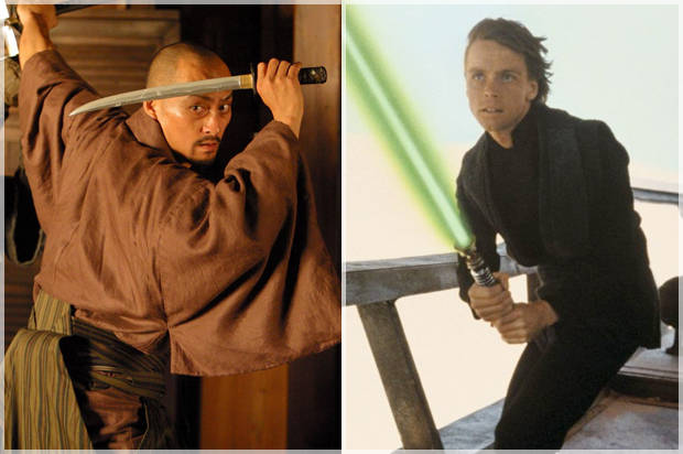 Sword vs. lightsaber: How the Samurai warrior inspired the Jedi Knights
