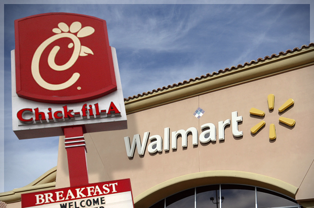 Summit Mall Stores >> Take this, Fox News: Wal-Mart, Chick-Fil-a and the War on ...