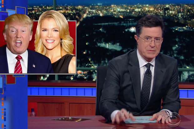 Stephen Colbert just made Donald Trump debate Donald Trump, and it's better than the entire GOP debate