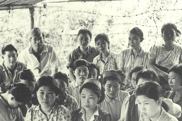 Comfort women good for maintaining discipline