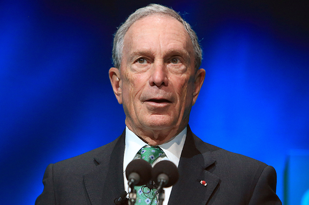 "Michael Bloomberg says Democrats should ""get behind"" President Trump"