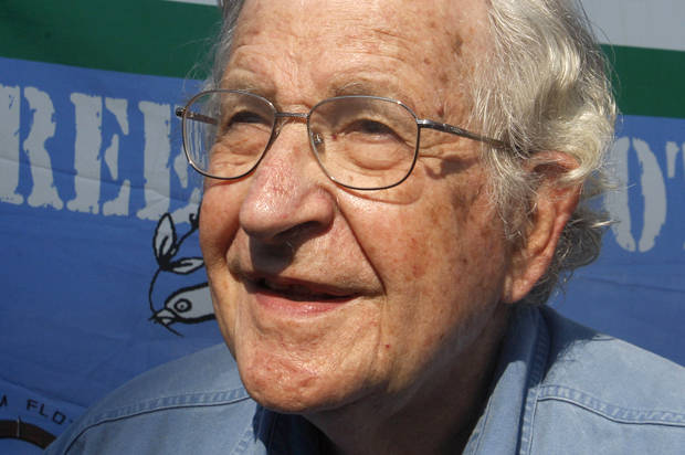 Noam Chomsky: The Democratic party now belongs to moderate Republicans