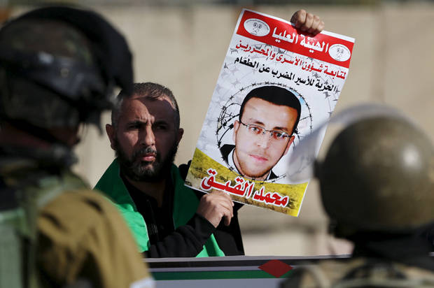 Palestinian journalist imprisoned by Israel without trial on verge of death, entering third month of hunger strike